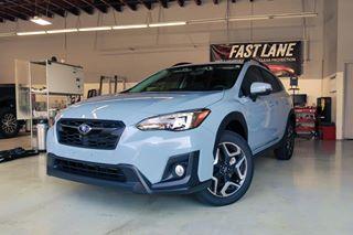 Subaru Crosstrek in for tint