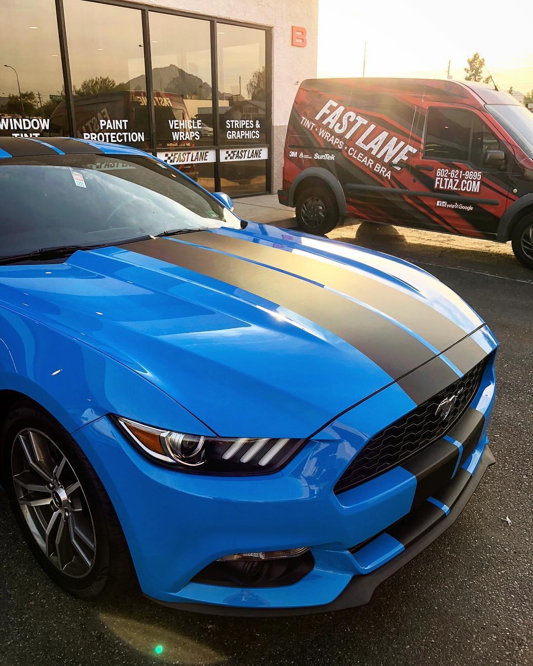Stripe kit Mustang
