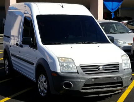 Our Scottsdale Ford Transit van with ceramic tint.