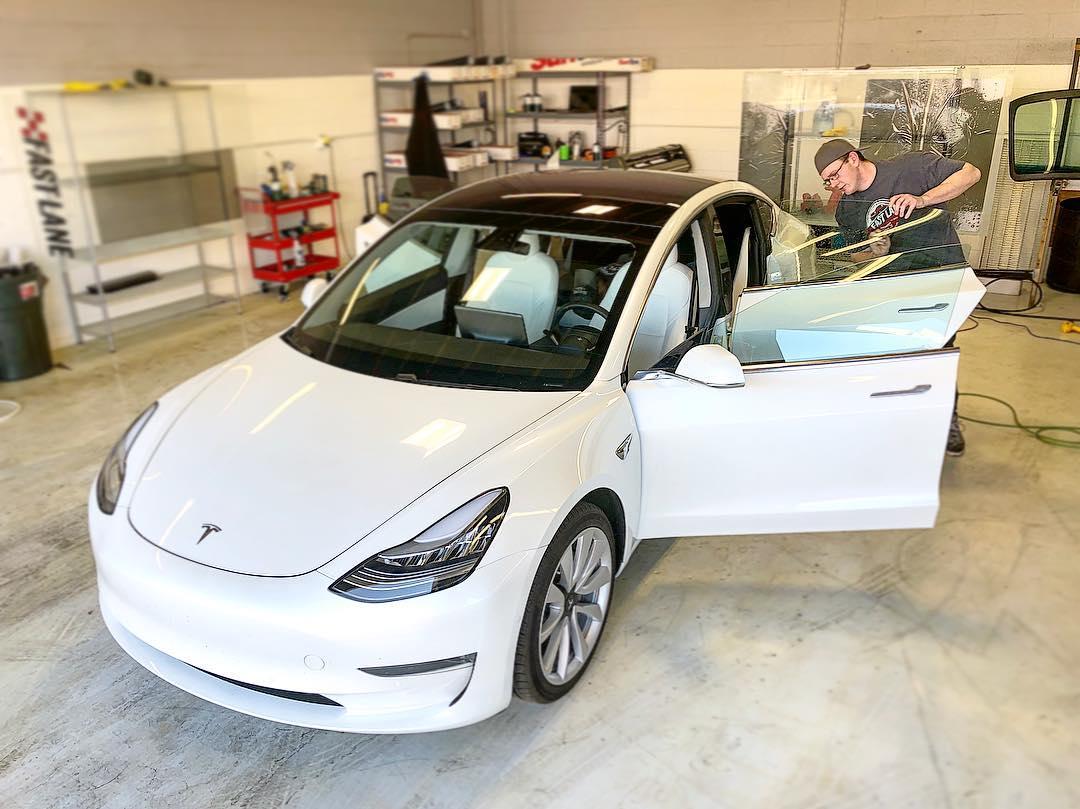 Tesla on the shop floor