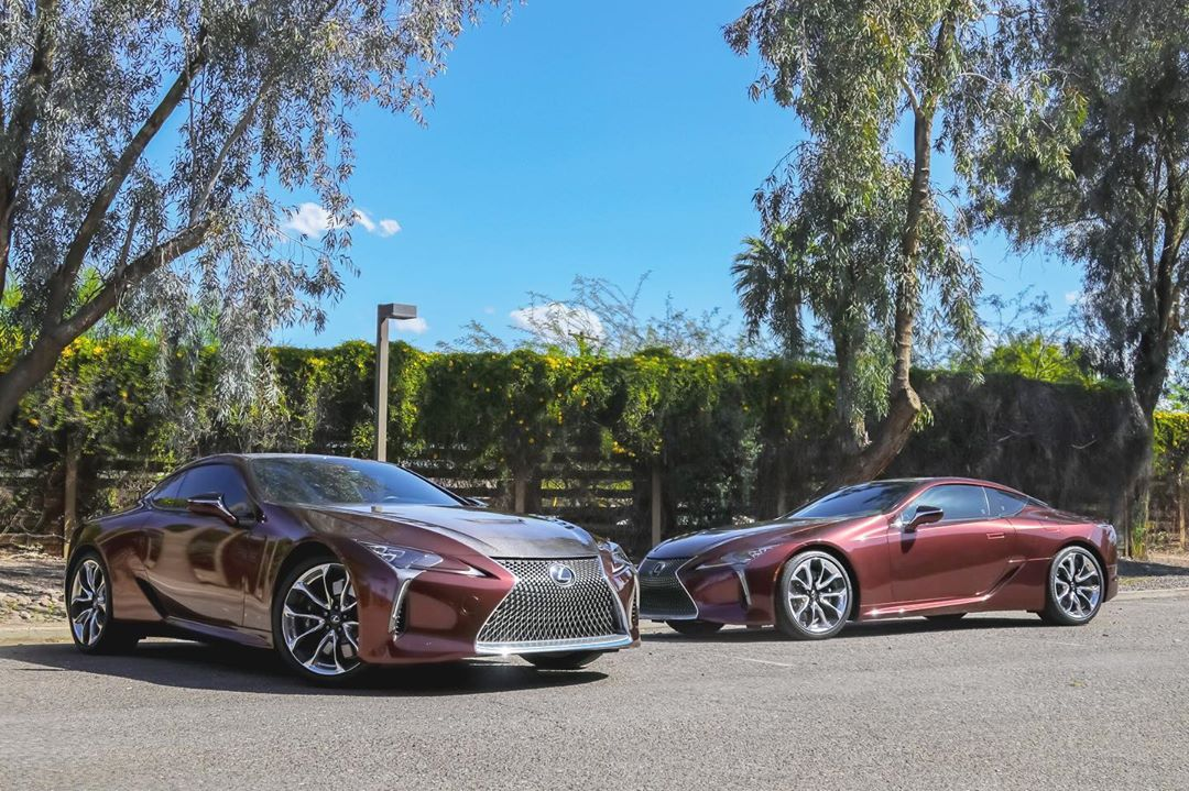 Wrapped LC500 by Fast Lane in Scottsdale.