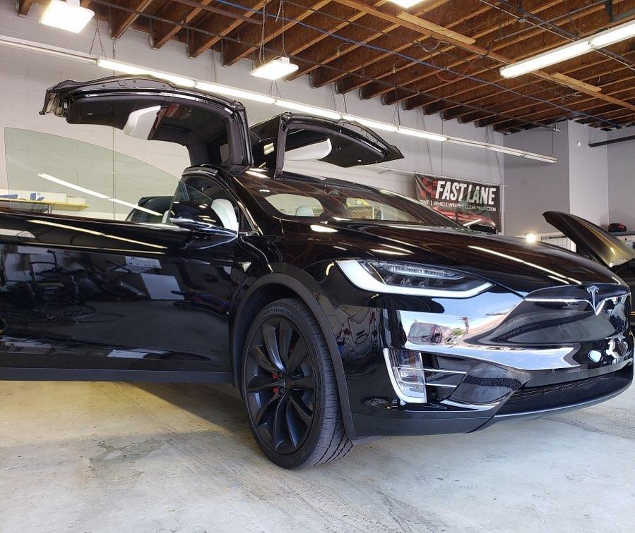 Window tint for Tesla Model X