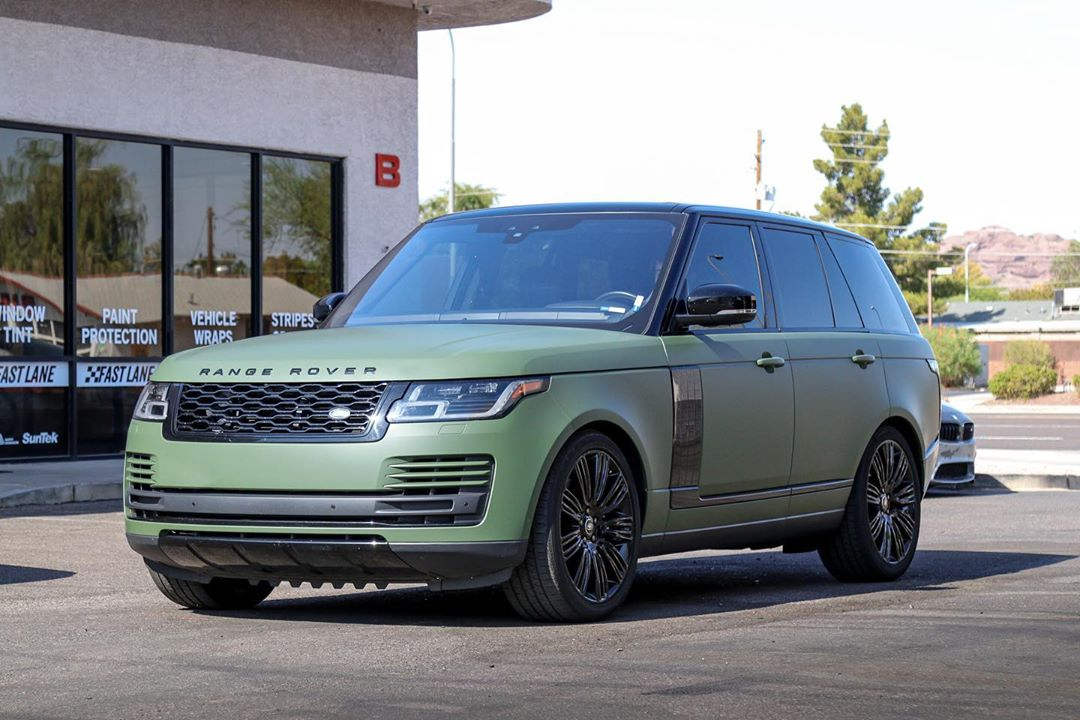 Wrapped Car Gallery Fast Lane Window Tint Scottsdale