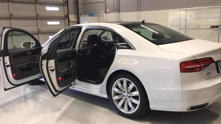 Audi window tint in Scottsdale AZ