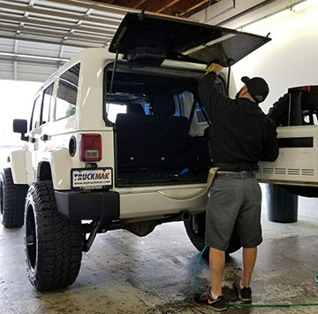 Great window tinting prices for Jeep Wrangler.