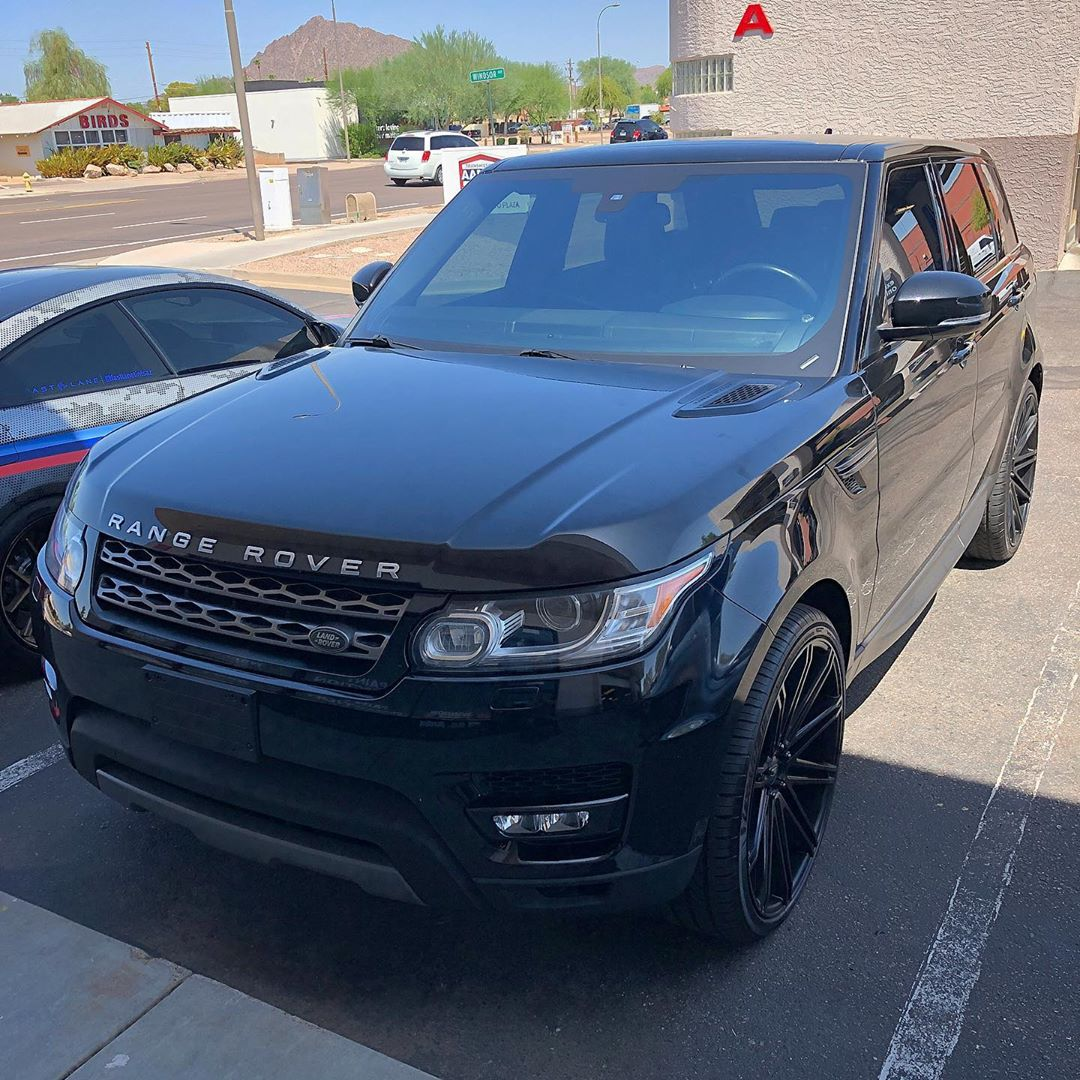 Range Rover window tint
